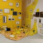 Art jaune au musée