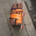 La valise DIY de Rémy.  ©Rémy Barreyat