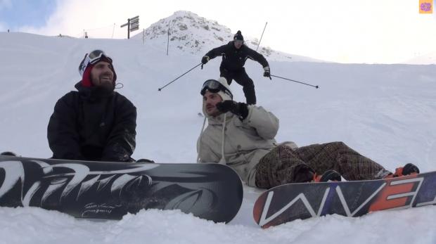 Skieurs PD