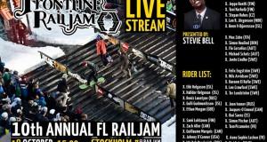 Frontline Railjam 2014 en live à 15 h !