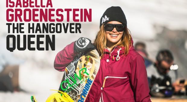 Isabella Groenestein, the hangover queen