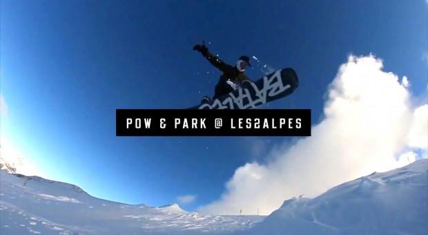 Pow & Park @Les 2 Alpes