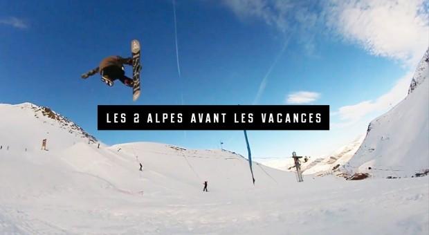 Les 2 Alpes avant les vacances