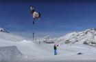 Sylvain Bourbousson et Jorn Simen Aaboe à Val d'Isère