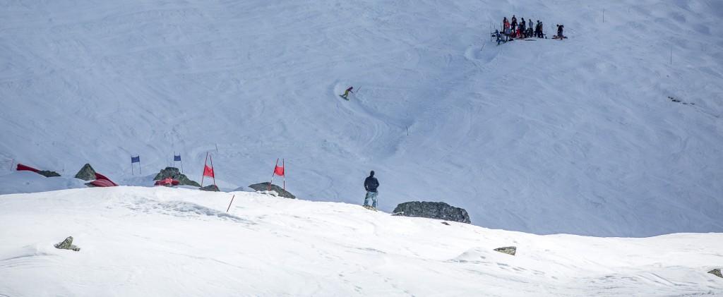 Panoramique du bank slalom