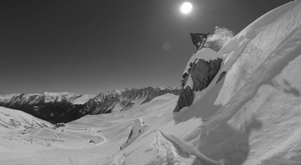 Matière Blanche – Une horde de snob, un film de snowboard