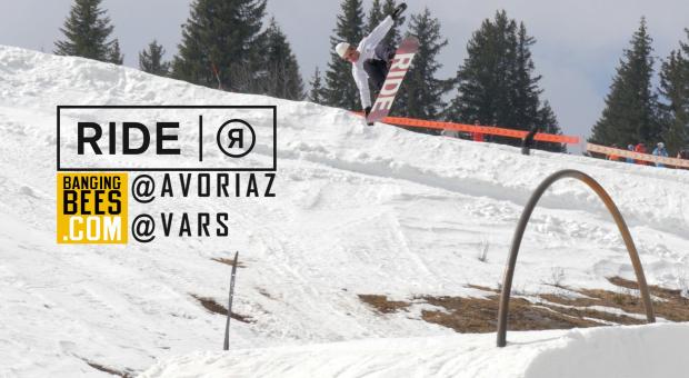 BangingBees x Ride Snowboards – Avoriaz & Vars closing days