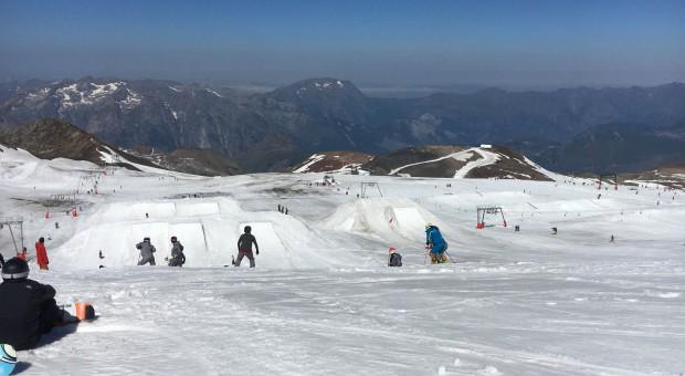 Ouverture été 2017 du glacier des 2 Alpes
