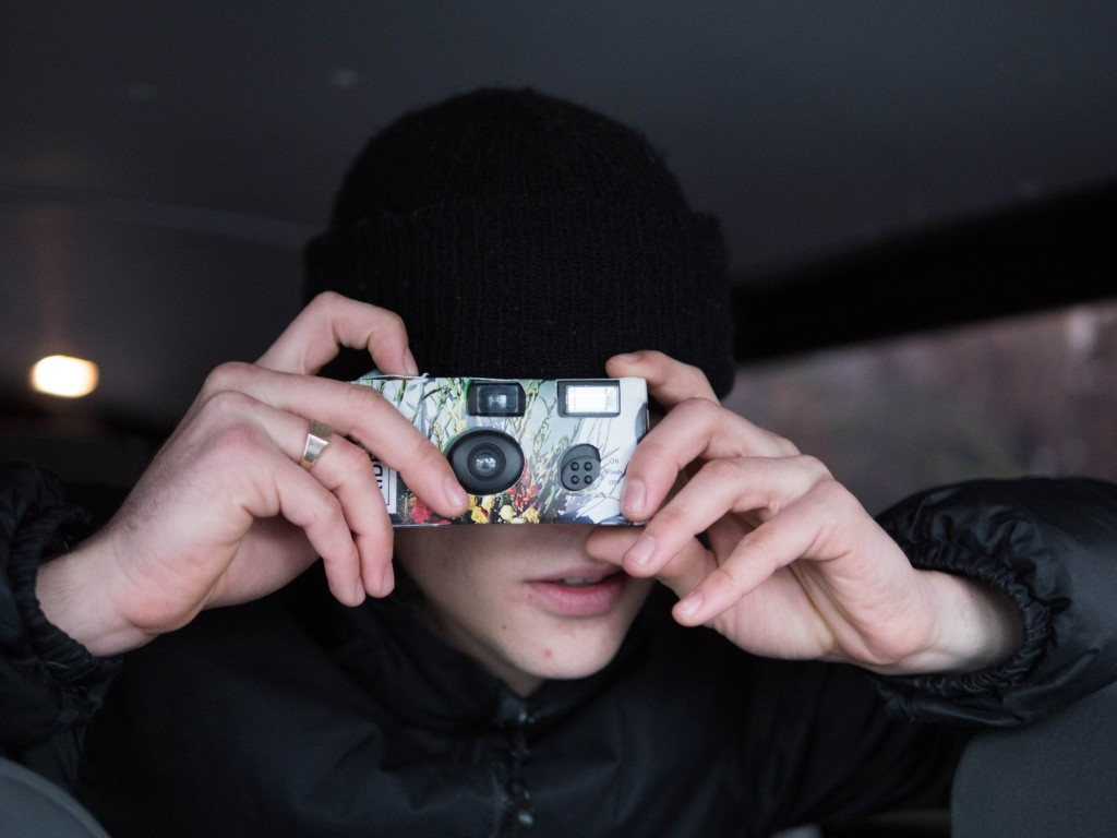 Pierrot disponable camera ©Bastien Sturma