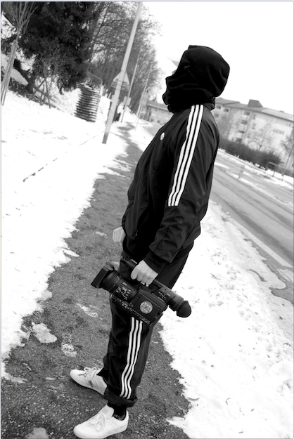 Thomas Vigoureux street filmer ©Thomas Zubiria