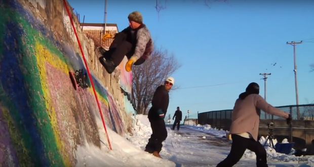 Joe Sexton - Public Snowboards - Waiting Room