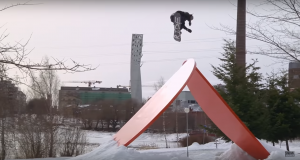 Brandon Davis – The SNOWBOARDER Movie: Beta