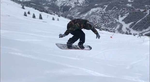Pow à Méribel avec DC Snowboarding France