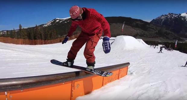 Academy Snowboard - Woodward Copper