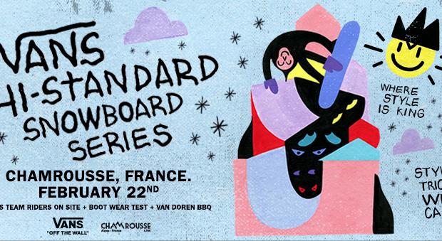 Vans Hi-Standard Series, Chamrousse – 22 février