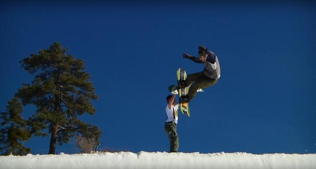 K2 Snowboarding x Vintage Sponsors - The Gateway