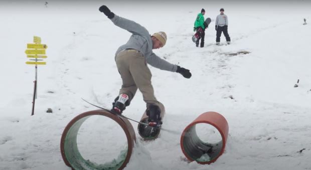 Nitro Snowboards - DIY Parks with Benny Urban